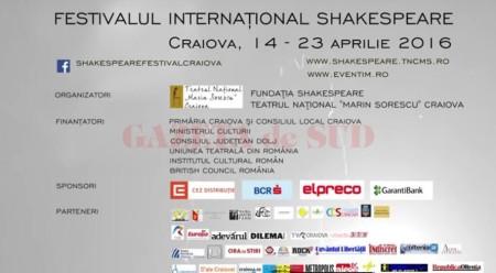 Festivalului Internaţional Shakespeare – ediţia a X-a